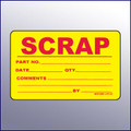 Scrap Quality Assurance Label  4 x 3