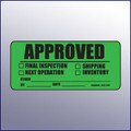 Approved Label 4 x 2