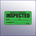 Inspected Quality Control Mini Label 1-/14 x 2-1/2