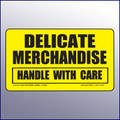 Delicate Merchandise/Handle With Care Label
