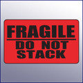 Fragile/Do Not Stack Label