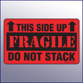This Side Up/Fragile/Do Not Stack Label