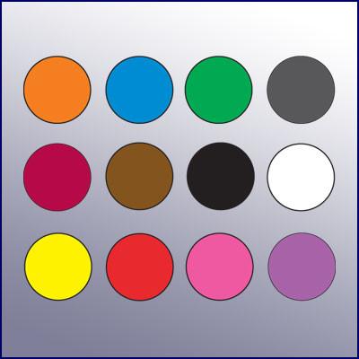 "Color Code Rotation Dots (1/2"" dia.) - Kenmore Label & Tag"