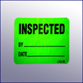 Inspected Mini Label 1-1/4 x 2