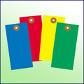 Blank Tyvek Tag Size 6 Various Colors