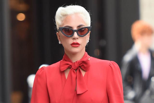 00bb48d6768 Lady Gaga wearing the KUBORAUM Y3 Sunglasses - LuxuryEyesite.com