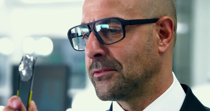 Stanley Tucci Wearing Mykita Mylon Pantara In Transformers