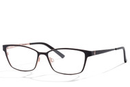Bevel optical glasses, metal glasses, japanese eyewear