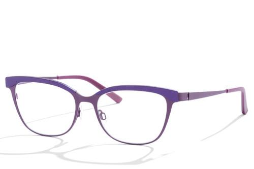 Bevel/Sybil/Purple Hue/Velvet Brown