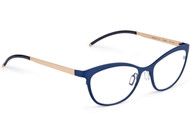 Orgreen Suzie Blue, Orgreen Designer Eyewear, elite eyewear, fashionable glasses