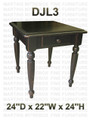 Pine Country Lane End Table With 1 Drawer 24''D x 22''W x 24''H