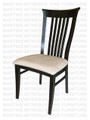 Maple Athena Side Chair With Upholstered Seat