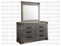 Maple Gastown Landscape Mirror 3''D x 42.5''W x 40.5''H With Jewelry Option.