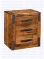 Maple Union Station Power Management Night Stand 18.5'' Deep x 27'' Wide x 30.5'' High