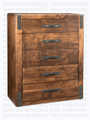 Maple Union Station Chest Of Drawers 18.5'' Deep x 39'' Wide x 48.5'' High