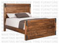 Maple Union Station Double Bed With High Footboard