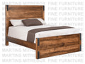 Maple Union Station Queen Bed With Low Footboard