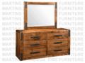 Maple Union Station Dresser 18.5'' Deep x 60.5'' Wide x 30.5'' High