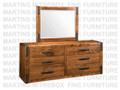 Maple Union Station Long Dresser 18.5'' Deep x 72.5'' Wide x 30.5'' High
