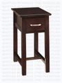 Maple Brooklyn Chairside Table 23'' Deep x 13'' Wide x 26'' High