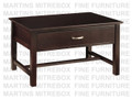 Maple Brooklyn Condo Coffee Table 21'' Deep x 35'' Wide x 20'' High