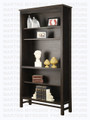 Maple Brooklyn Bookcase 14'' Deep x 41'' Wide x 80'' High With 3 Adjustable Shelves