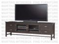 Maple Brooklyn HDTV Base Entertainment Cabinet 19.5'' Deep x 85'' Wide x 27'' High