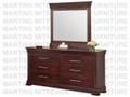 Maple Kensington Landscape Mirror