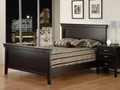 Maple Brooklyn Double Panel Bed