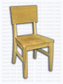 Maple Kirkland Side Chair