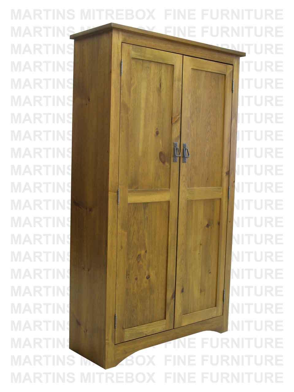 Oak Montana Double Jelly Cabinet 13 Deep X 35 Wide X 60 High