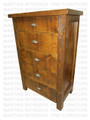 Pine Frontier Chest Of Drawers 39''W x 52''H x 18.5''D
