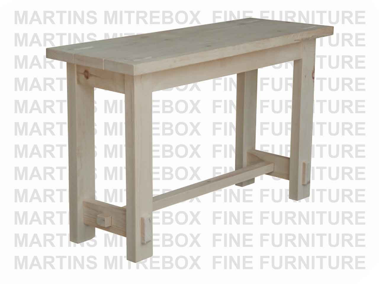Awesome Pine Homestead Sofa Table 18D X 48W X 30H Ibusinesslaw Wood Chair Design Ideas Ibusinesslaworg