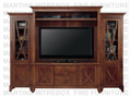 "Oak Florence 4 Piece Plasma TV Centre for 60"" TV"