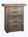 Maple Baxter Chest of Drawers 19''D x 43''W x 52.5''H With 6 Drawers