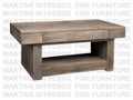 Maple Baxter Coffee Table 23''D x 46''W x 19''H With 1 Drawer