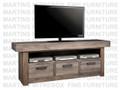 Maple Baxter HDTV Entertainment Cabinet 20''D x 74''W x 30''H