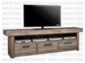 Maple Baxter HDTV Base Entertainment Cabinet 20''D x 84''W x 30''H