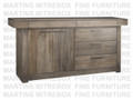Maple Baxter Sideboard 19''D x 79''W x 37.5''H With 5 Drawers And 2 Doors.