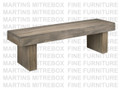 Maple Baxter Bench 16''D x 60''W x 18''H With Wood Seat