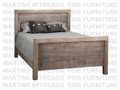 Maple Baxter Double Panel Bed
