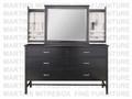 Maple Brooklyn Dresser 19.5''D x 70''W x 41''H With 6 Drawers