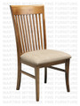 Maple Demi - Lume Side Chair With Upholstered Seat