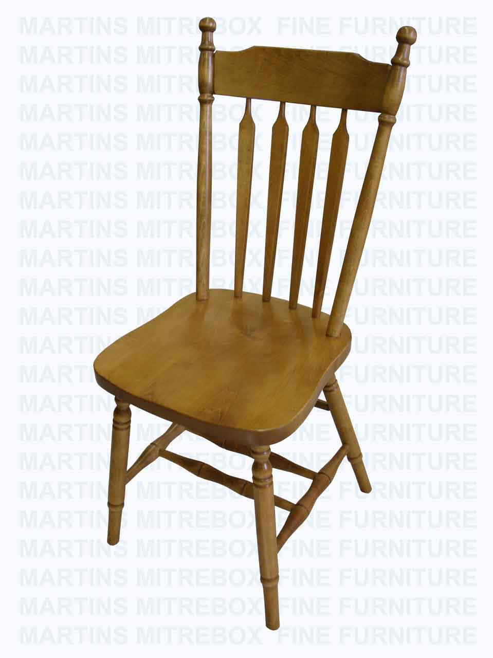 Maple Kitchen Arrow Side Chair
