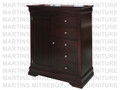 Oak Phillipe Gentlemen's Chest 20''D x 48''W x 57.5''H