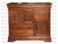 Oak Phillipe Mule Chest 20''D x 54.5''W x 50''H