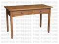 Maple Shaker Desk 24''D x 48''W x 30''H With 2 Drawers