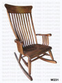 Oak Old South Rocker. 19'' Deep x 44'' High x 25'' Wide