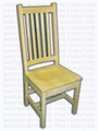 Maple Special Latte Back Side Chair