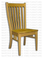 Oak Bedford Side Chair